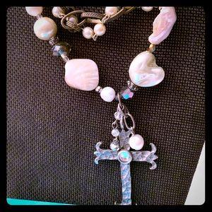 LU! Costume Cross Necklace